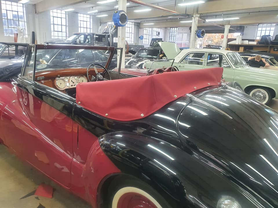 Soft Top Repair Sydney Motor Trimmers